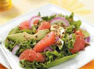 Sunny Avocado Citrus Salad Recipe