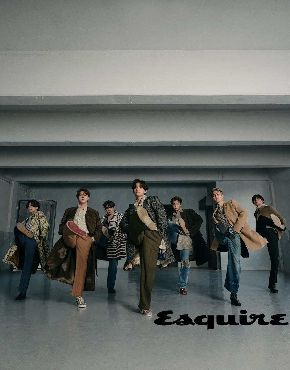 bts esquire
