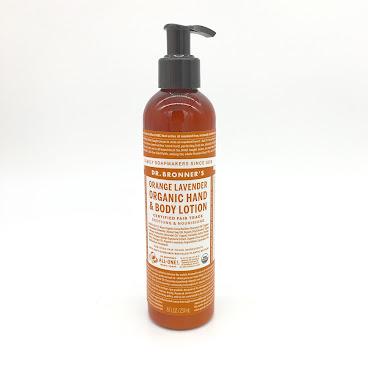 Dr.Bonner's Orange Lavender Organic Lotion 香橙薰衣草有機潤膚露 (復活節優惠)