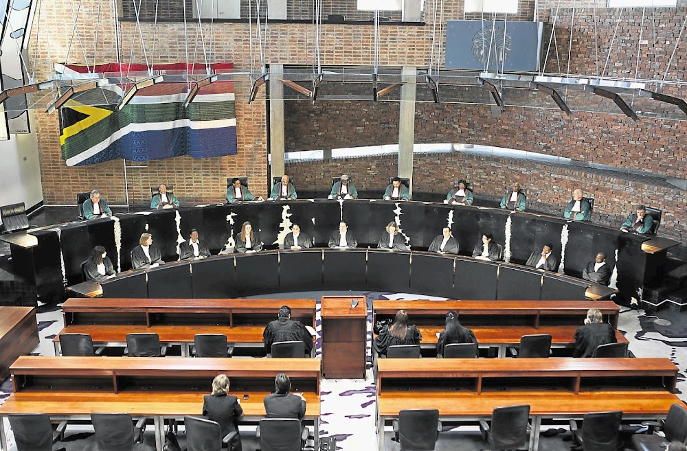 There's no right to stop a trial to earn money for own lawyer, ConCourt rules - SowetanLIVE