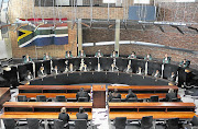 The Constitutional Court in session.