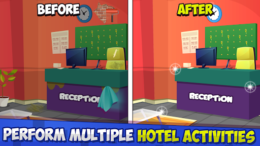 u00a0Animal Hotel Manager: Room Cleanup 1.6 screenshots 3