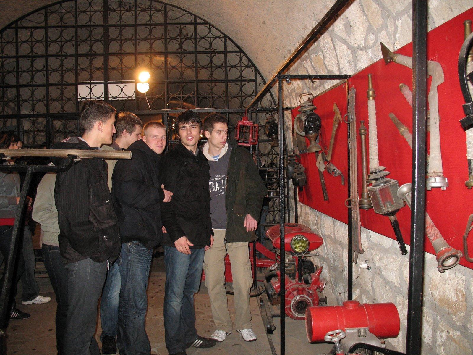 Photo: Twierdza kłodzka - wystawa sprzętu pożarniczego