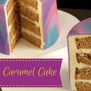 Salted Caramel Cake Recipe