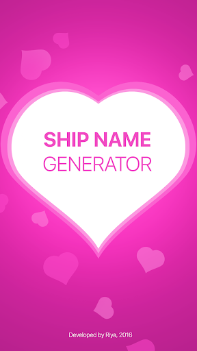 Fandom Ship Names Generator: Fluff and Fun 1.13 screenshots 1