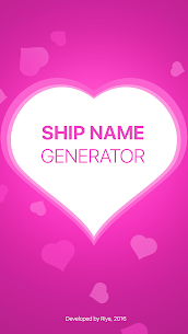 Fandom Ship Names Generator: Fluff and Fun 1.13 Mod Android Updated 1