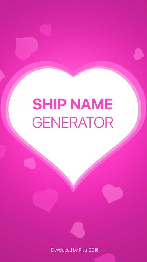 Fandom Ship Names Generator: Fluff and Fun - Apps on Google Play