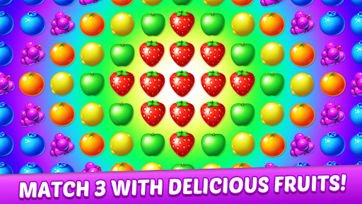 Fruit Genies - Match 3 Puzzle Games Offline apkslow screenshots 5