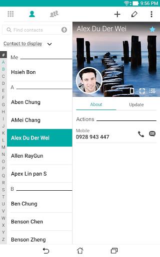 ZenUI Dialer & Contacts screenshot 8