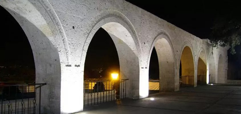 arcos Arequipa (noche)| CITY TOUR AREQUIPA