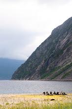 Photo: Pelle Riksgränsen- Fjorden Rombaksbotn, i väntan på båten