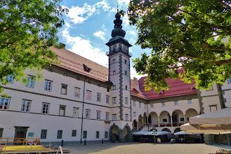 Photo: Klagenfurt: Das Landhaus (16. Jhdt.), Sitz des Kärtner Landtags.