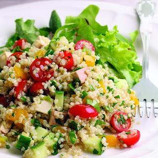 Quinoa Tofu Salad Recipes.