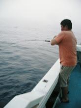 Photo: 久しぶりのジギングです! 久しぶりのご乗船です。 「古ケン」さんヒーット!