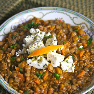 Lentil Soup with Olive Oil and Orange (Greek Island of Crete).