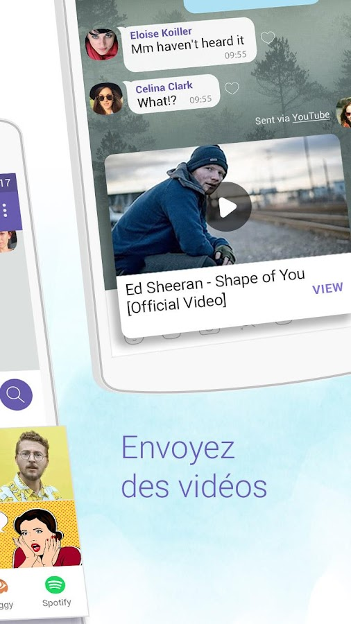 Viber Messenger – Capture d'écran