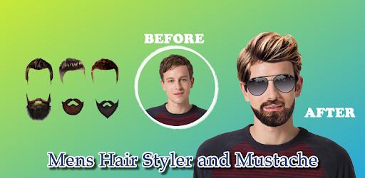 Приложения в Google Play – <b>Men's</b> Hair Styler and Mustache