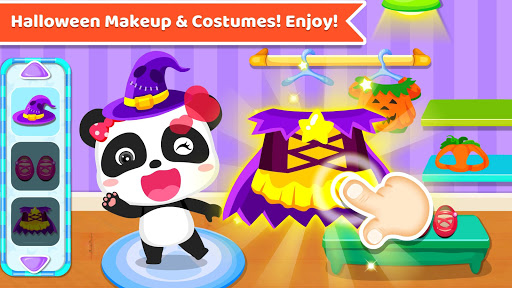 Baby Panda's Supermarket-Halloween Party Shopping  2