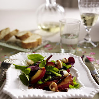 Glazed Nectarine and Mozzarella Salad