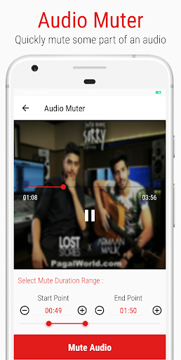 Mstudio: Play,Cut,Merge,Mix,Record,Extract,Convert 3.0.4 Screenshots 5