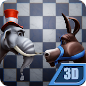 Political Chess 3D