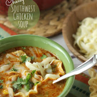Cheesy Southwest Chicken Soup.