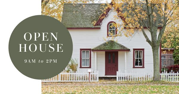 Traditional Open House - Facebook Event Cover Template