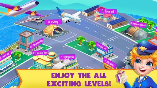 Airport Manager: Adventure Airplane Games - screenshot