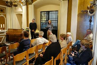 Photo: in gesprek met Diederik Stapel
