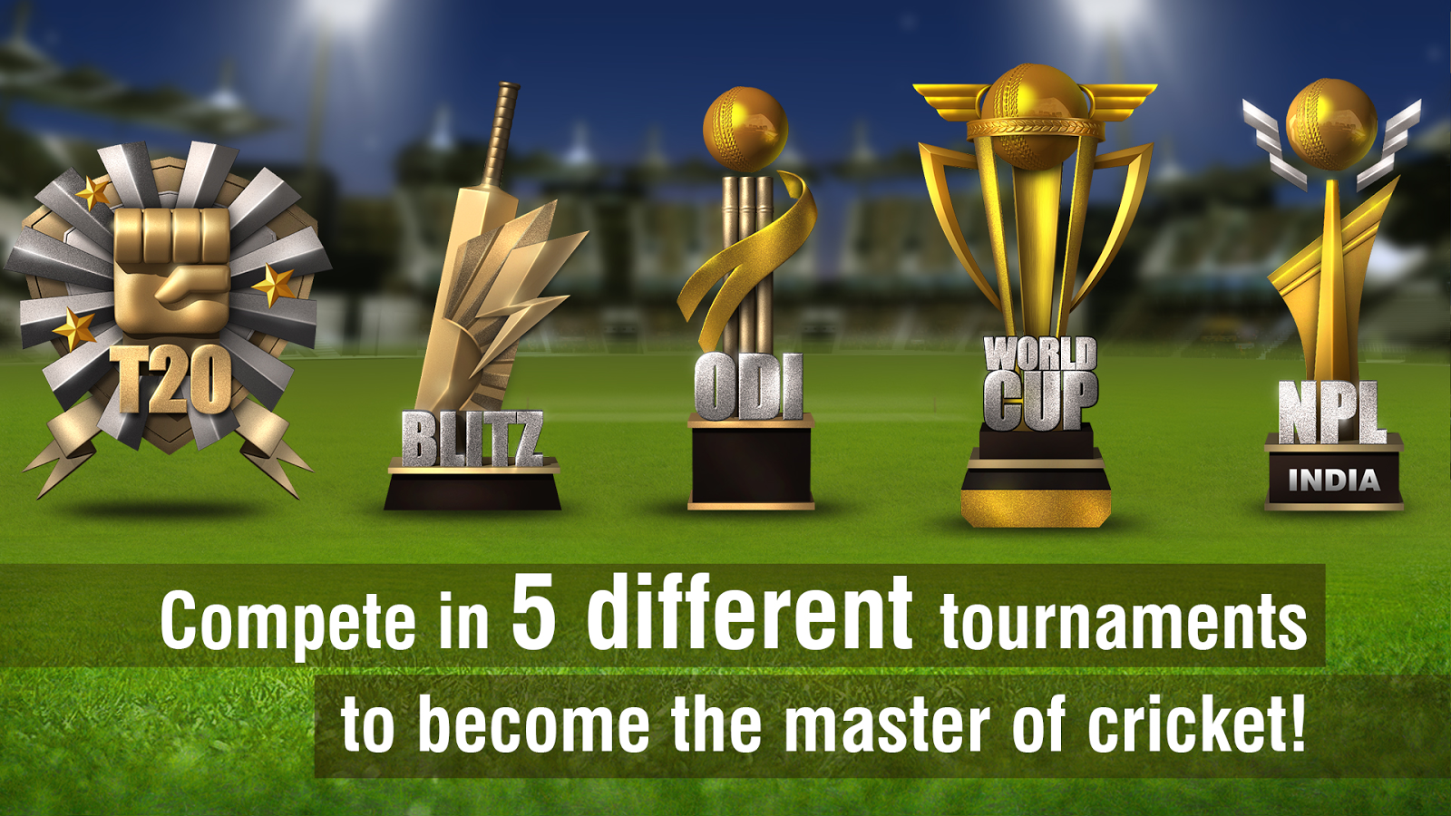 ‪World Cricket Championship 2‬‏- لقطة شاشة