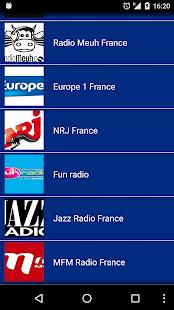 Radio France - náhled