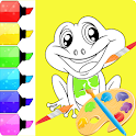 Coloring Book Kids-Easy Coloring icon