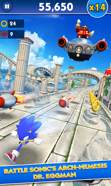 Sonic Dash v3.7.1.Go (Mod Money/Unlock/Ads-Free)