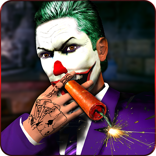 Crazy Clown Gangster Escape 3D