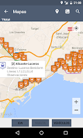 Screenshot of TiempoBus y Tram Alicante
