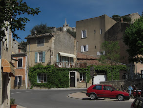 Photo: We reach Bonnieux and our inn at 4 pm.