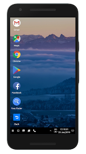 WX Launcher - Windows 10 styled 2019 Launcher Screenshot