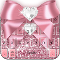 Pink Bow Keyboard icon