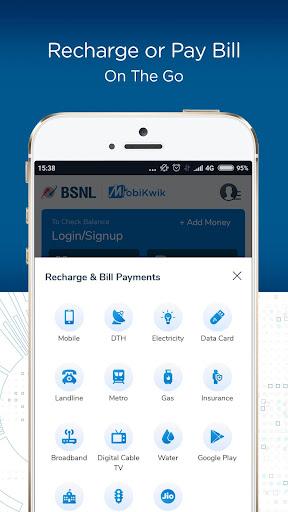 BSNL Wallet- Recharge,Bill Payments,Money Transfer screenshot 3