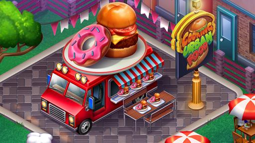 Code Triche Cuisine Urbaine 🍔 Jeux De Restaurant apk mod screenshots 6