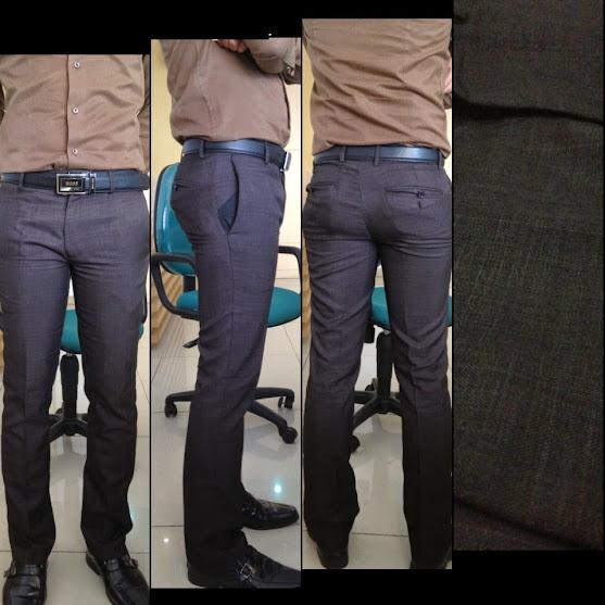 Celana Bahan Kantor Formal Slim Fit Reguler Fit Must Muss
