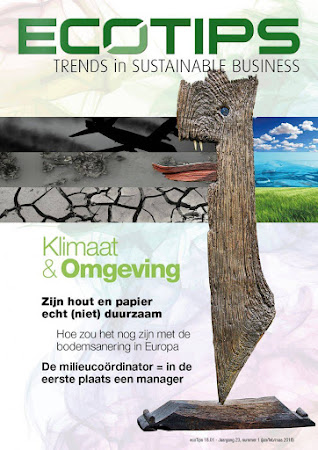 MAGAZINE ecoTips jan-feb-maa over Klimaat en Omgeving