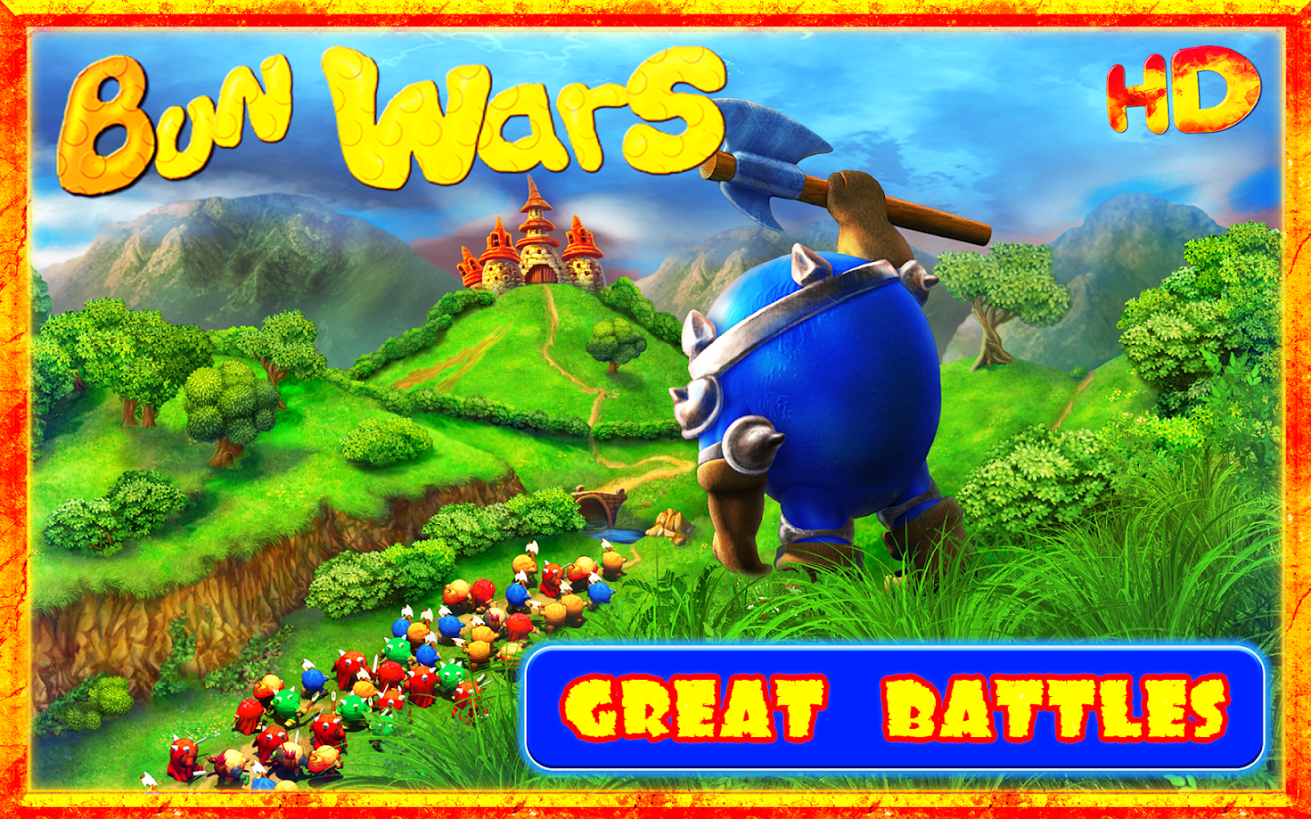 Bun Wars HD - Strategy Game- screenshot