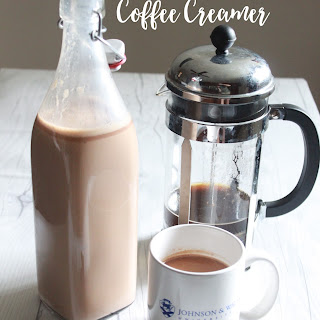 Heath Bar Coffee Creamer