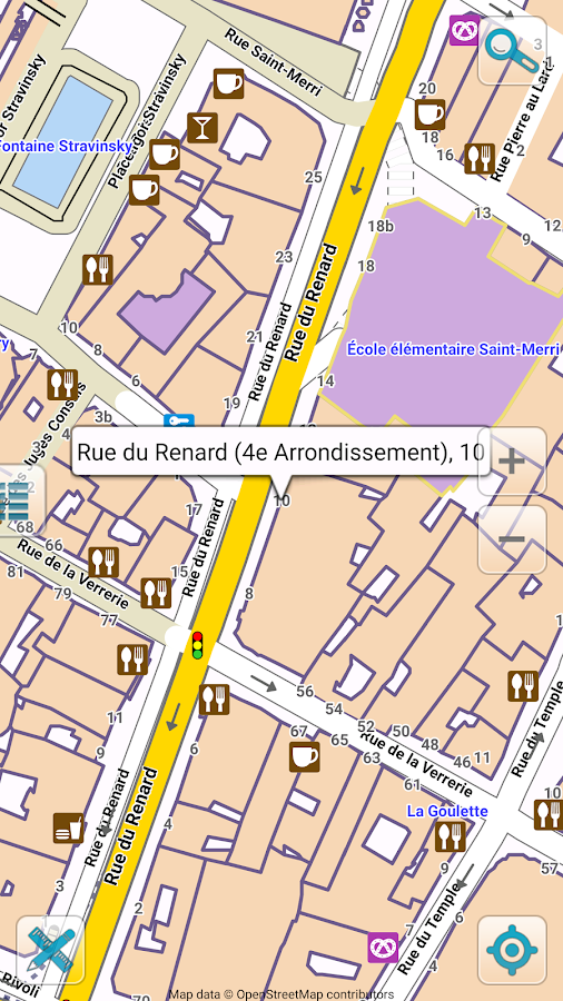 Map Of Paris Offline Android Apps On Google Play - Paris road map