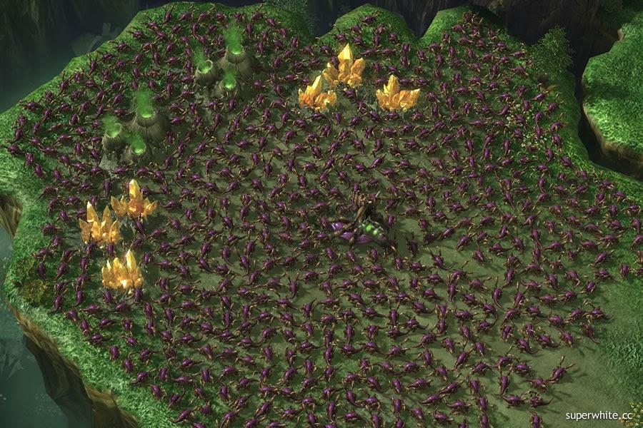 Starcraft 2 Zerglings Swamp