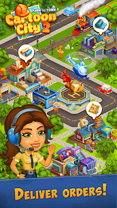 Cartoon City 2:Farm to Town.Build your home,house Mod 2.19 Apk (infinite money) 5