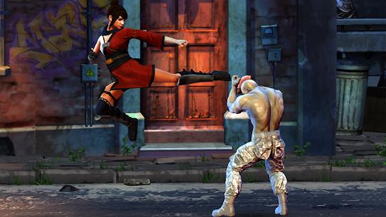 فتاة الساموراي: ألعاب القتال الحر للسيدات السوبر 5
