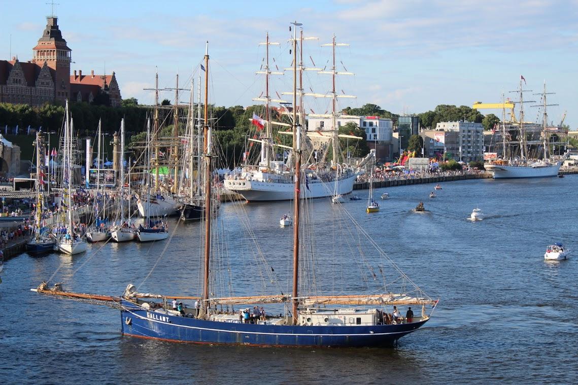 Tall Ships Race oder die Tage de Meeres sind seit Jahren die Megaevents im Sommer. Archivfoto 2017 ©Andreas Schwarze/Polen.pl