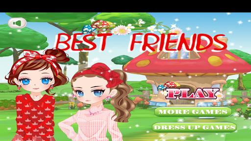 换装游戏:最好的朋友化妆